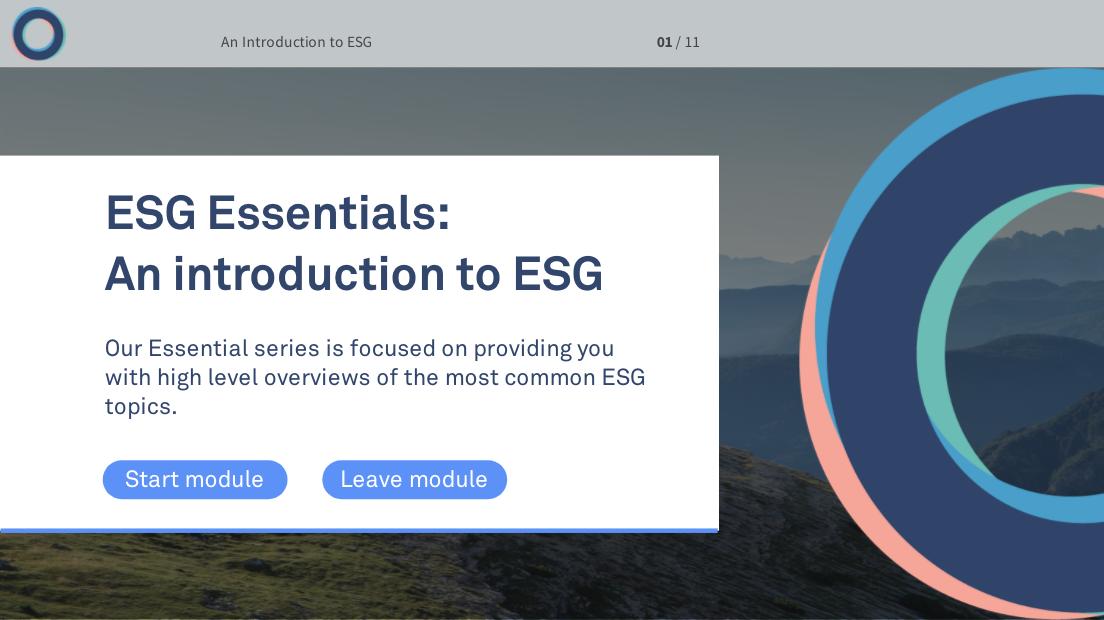 Essentials Screen #1