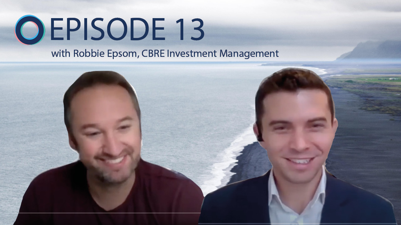 Ep.13: The SDGs as a guiding light for business with purpose with Robbie Epsom, CBRE Investment Management